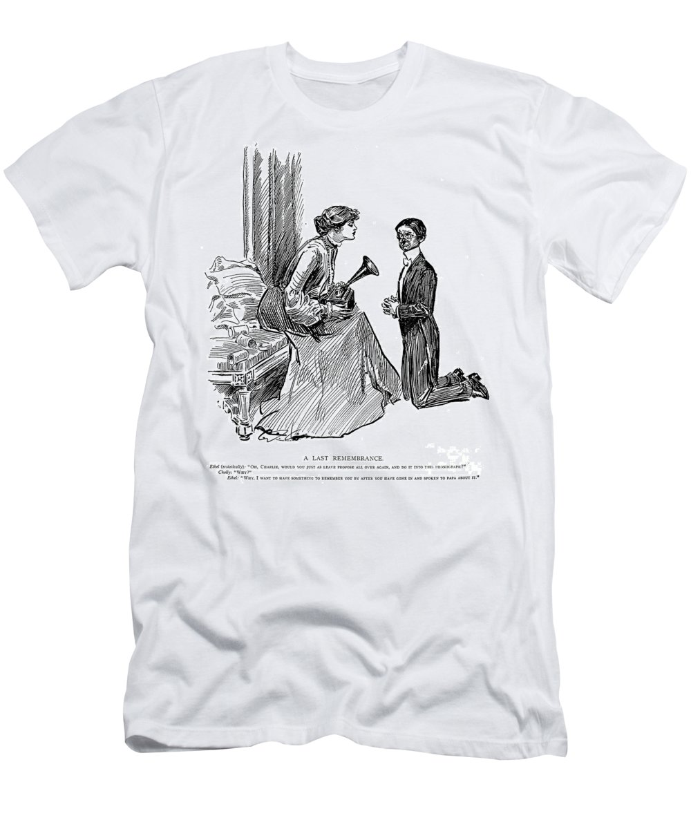 1903 Men's T-Shirt (Athletic Fit) featuring the photograph Gibson: Last Remembrance by Granger