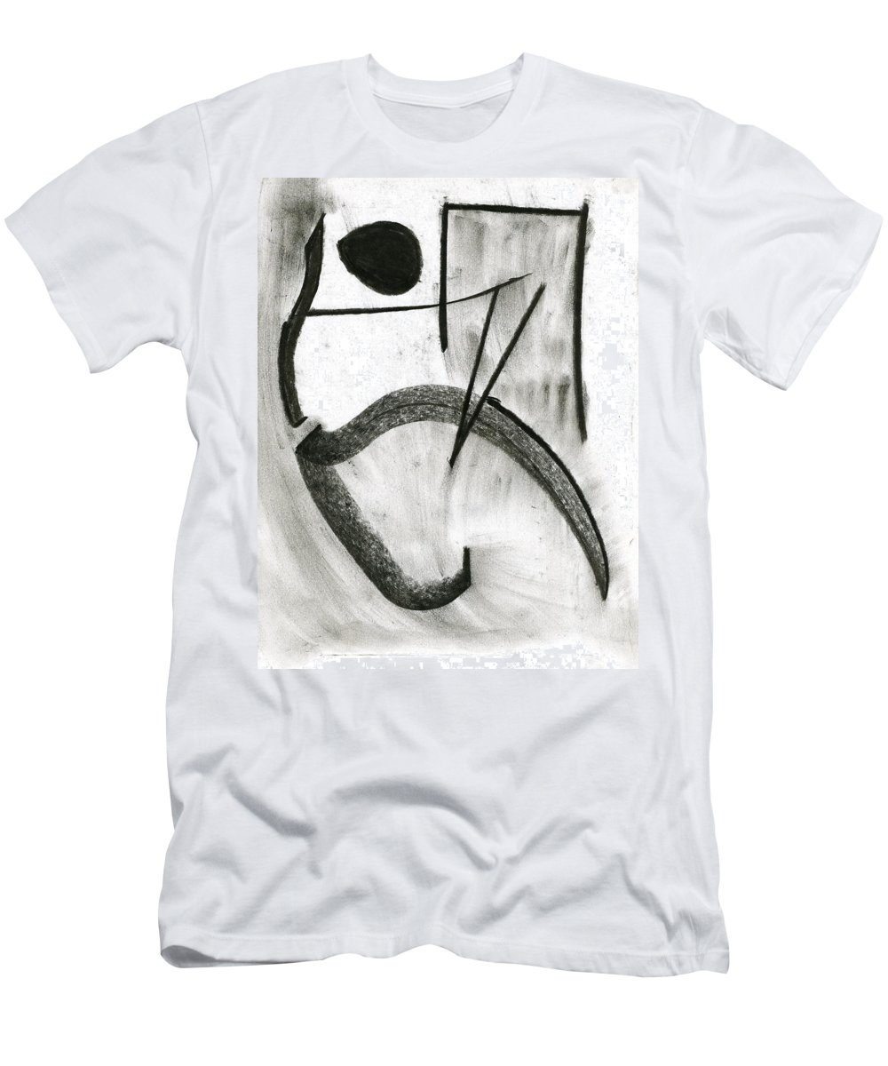 Paintings On Paper Men's T-Shirt (Athletic Fit) featuring the painting Hear Me See Me by Taylor Webb