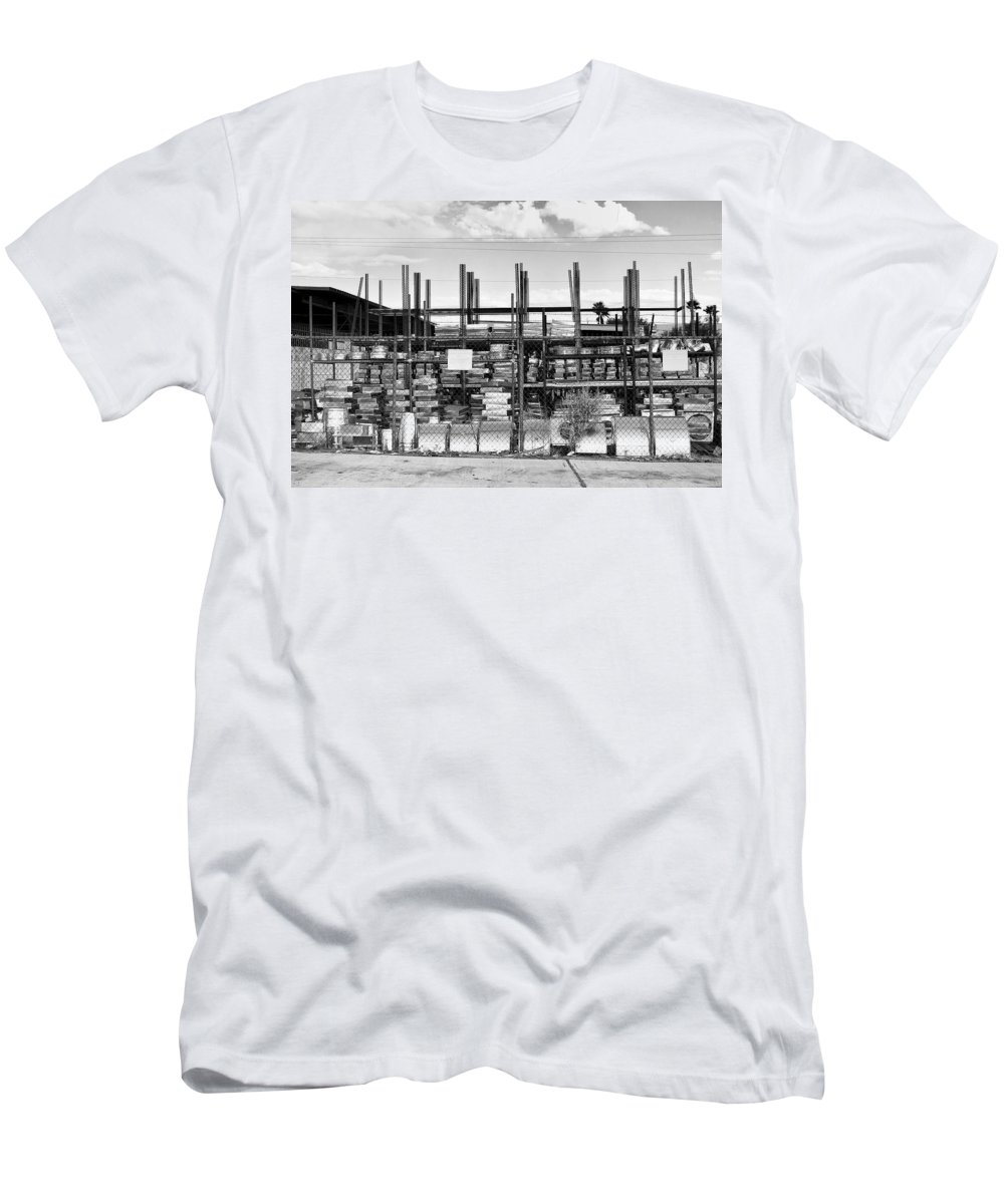 Desert Men's T-Shirt (Athletic Fit) featuring the photograph Heavy Metal Palm Springs by William Dey