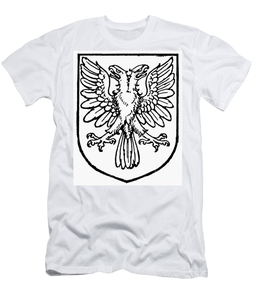 Coat Of Arms Men's T-Shirt (Athletic Fit) featuring the photograph Heraldry: Birds by Granger