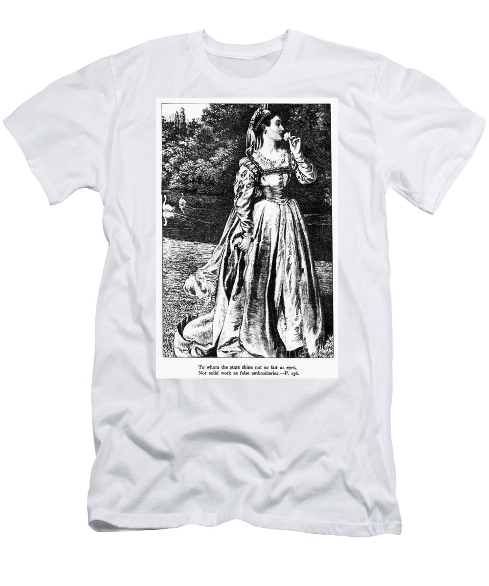 1633 Men's T-Shirt (Athletic Fit) featuring the photograph Herbert: Vanity by Granger