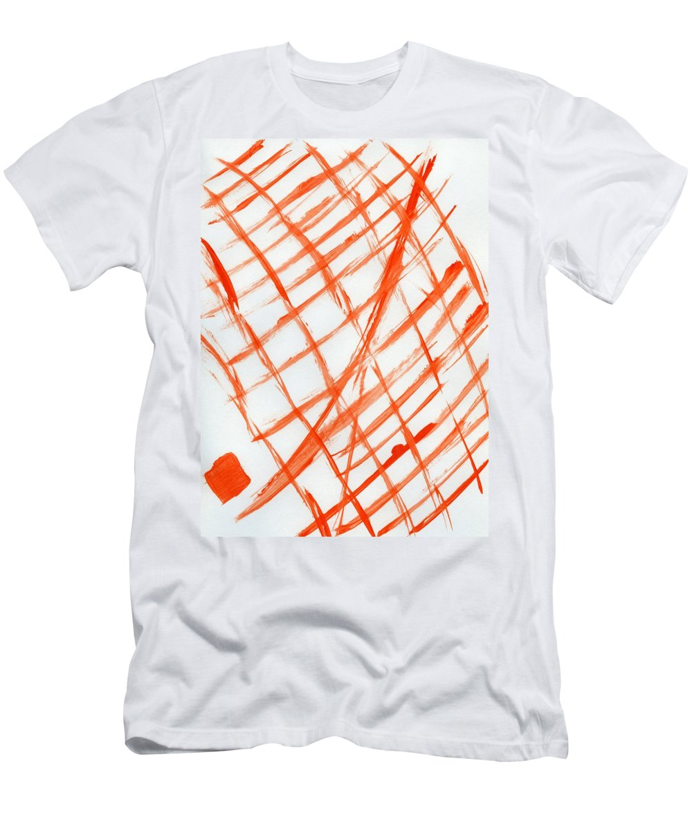 House Of Deceit Men's T-Shirt (Athletic Fit) featuring the painting House Of Deceit by Taylor Webb