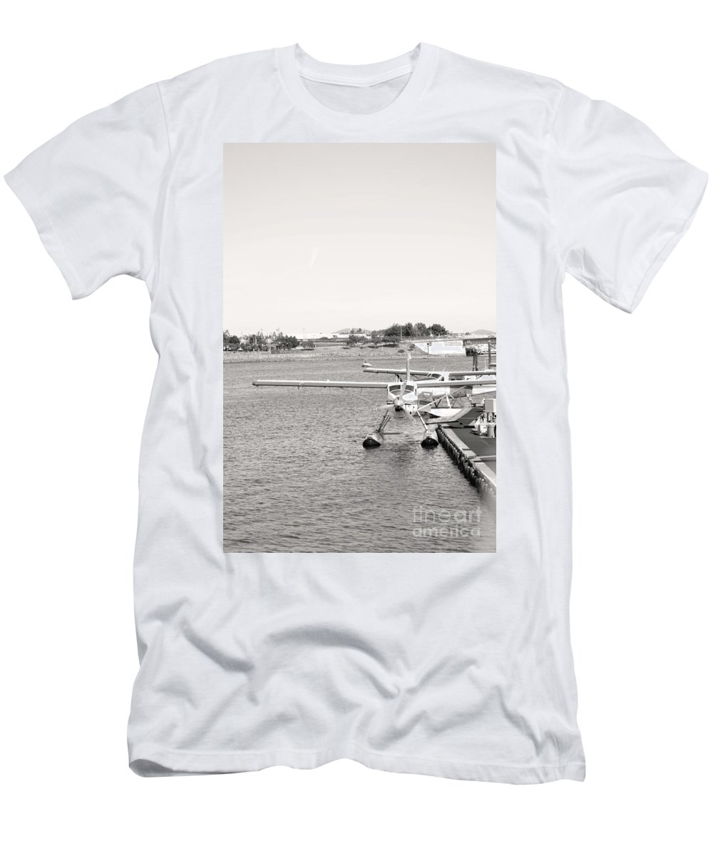 Dragon Boat Races Men's T-Shirt (Athletic Fit) featuring the photograph In Plane Sight by Traci Cottingham