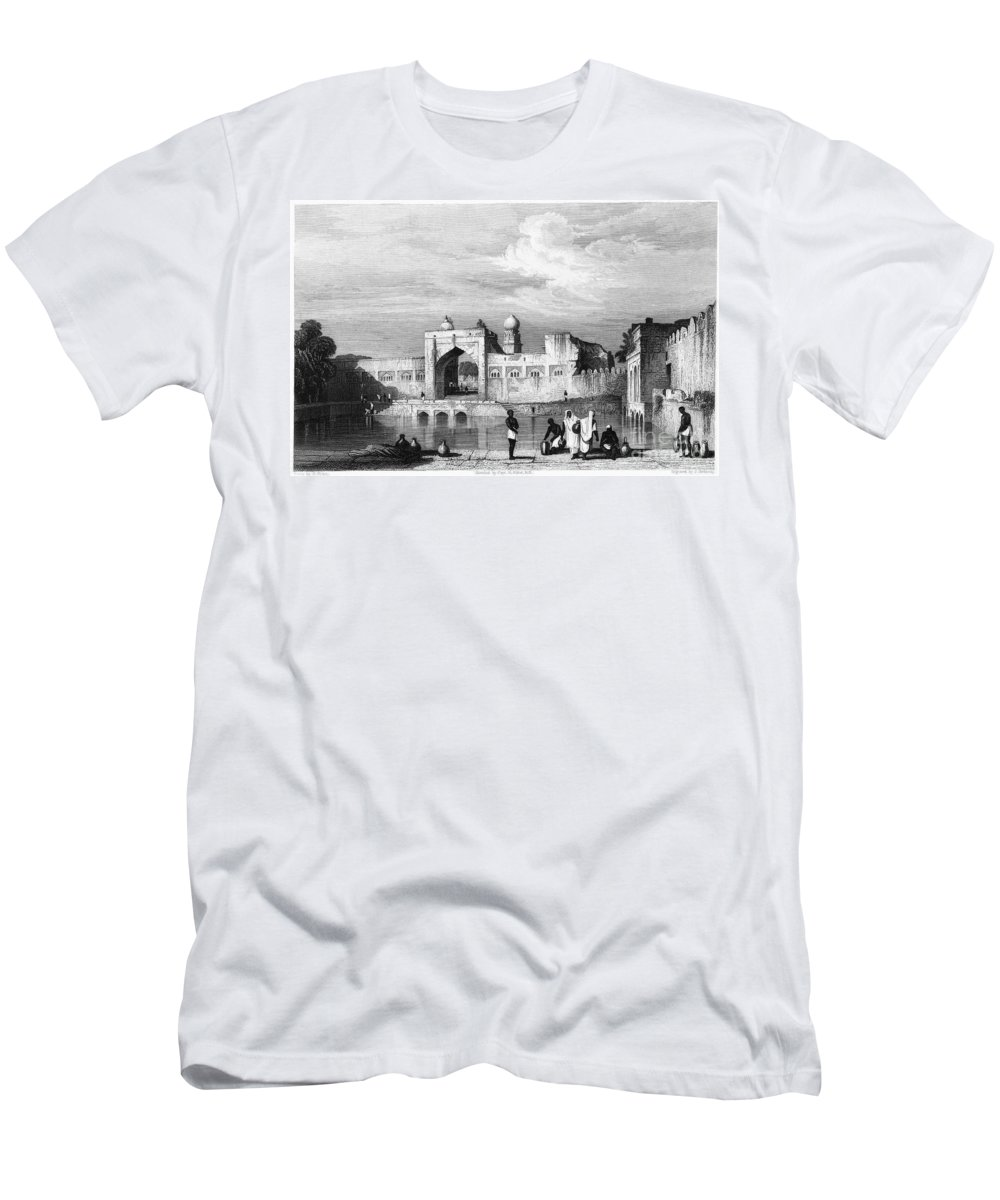 1860 Men's T-Shirt (Athletic Fit) featuring the photograph India: Bijapur, C1860 by Granger