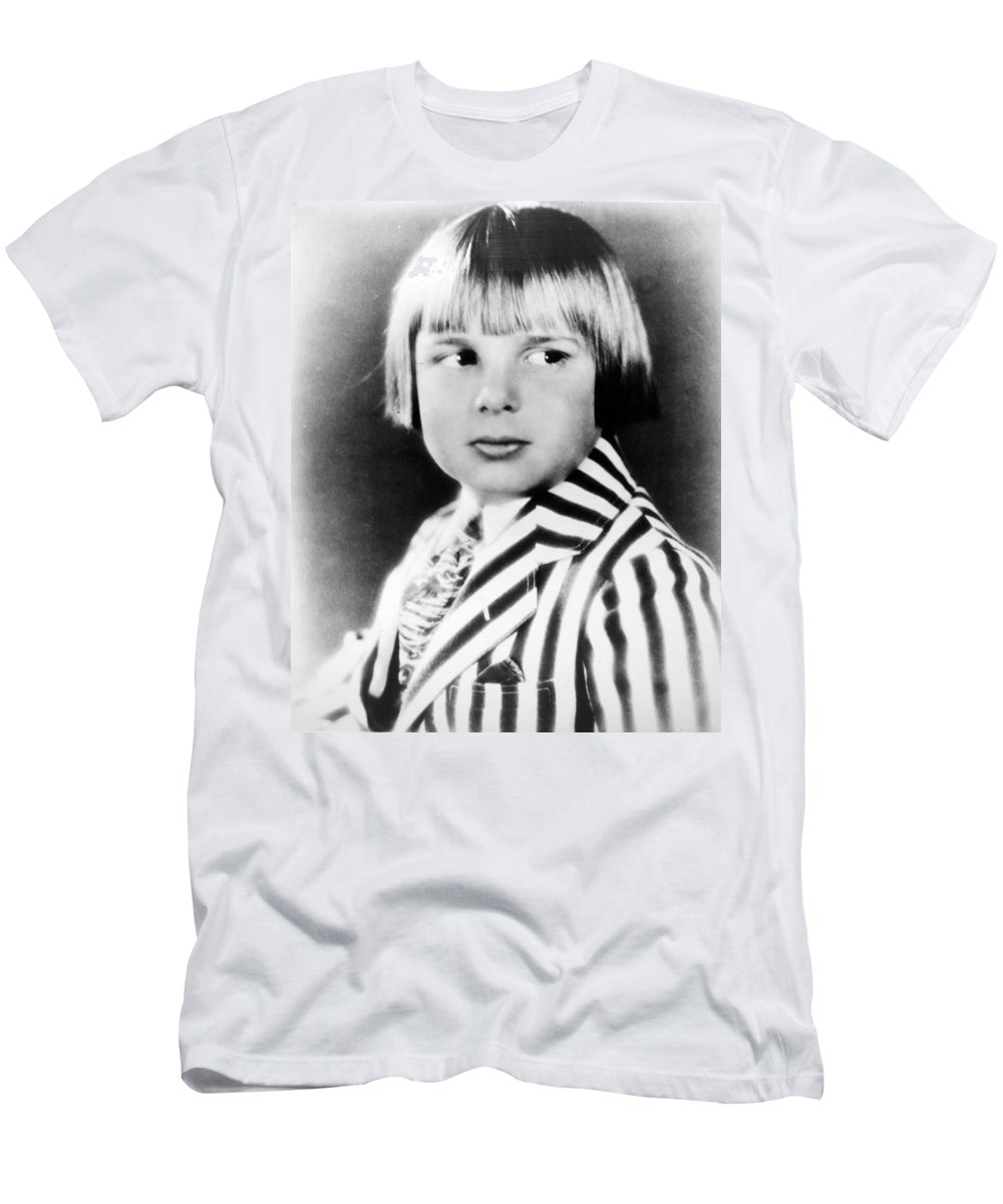 1920s Men's T-Shirt (Athletic Fit) featuring the photograph Jackie Coogan (1914-1984) by Granger