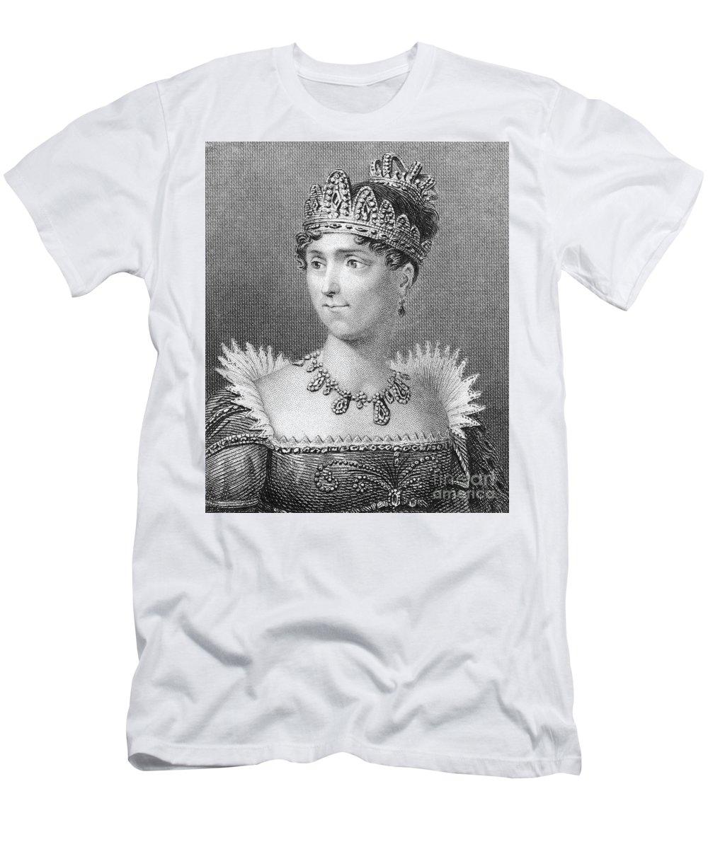 19th Century Men's T-Shirt (Athletic Fit) featuring the photograph Josephine De Beauharnais by Granger