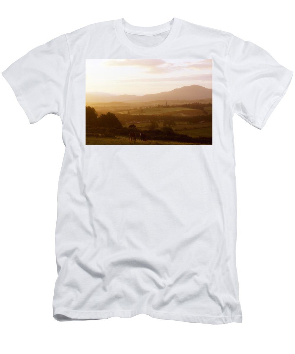 Ireland Men's T-Shirt (Athletic Fit) featuring the photograph Killarney, Co Kerry, Ireland by The Irish Image Collection