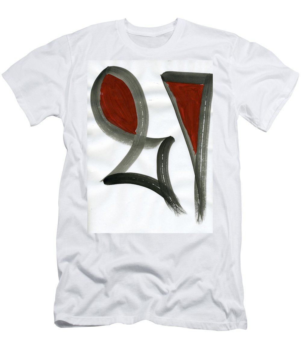 Kingdom Of Man Men's T-Shirt (Athletic Fit) featuring the painting Kingdom Of Man by Taylor Webb