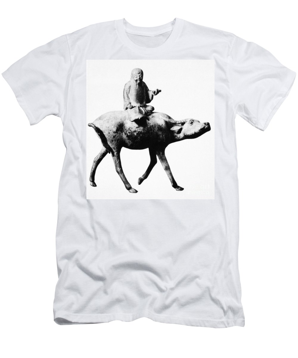 6th Century B.c Men's T-Shirt (Athletic Fit) featuring the photograph Lao-tzu (604-531 Bc) by Granger