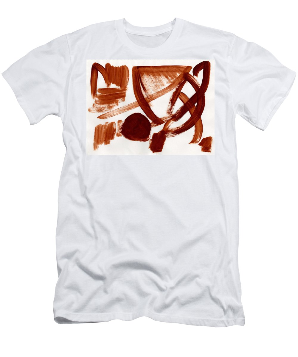 Less Than Credible Men's T-Shirt (Athletic Fit) featuring the painting Less Than Credible by Taylor Webb