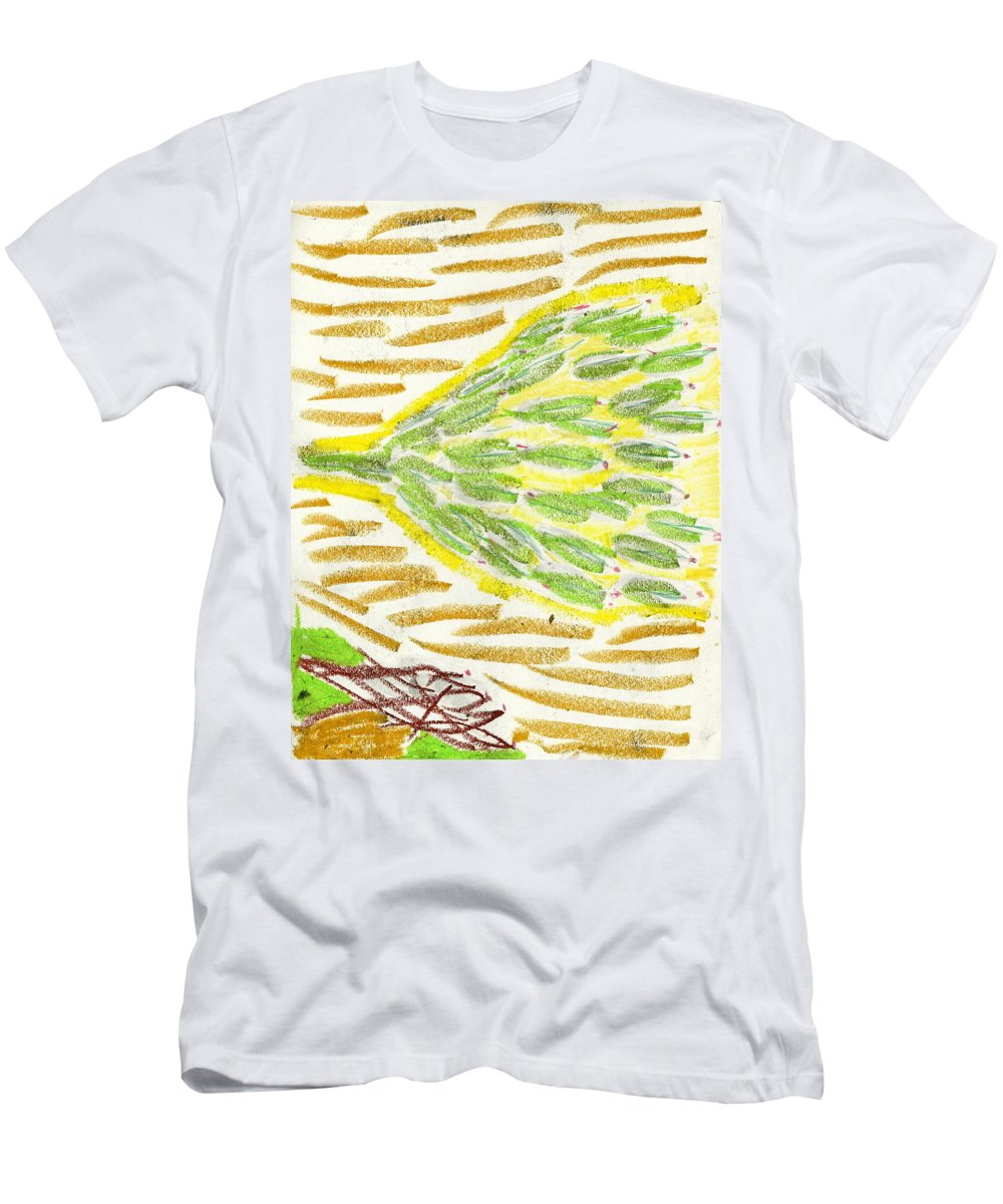 Life Tree Men's T-Shirt (Athletic Fit) featuring the painting Life Tree by Taylor Webb