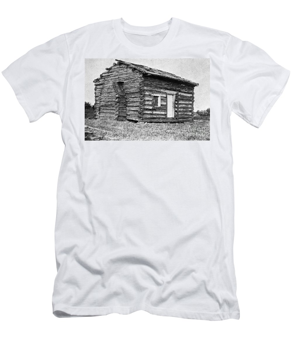 20th Century Men's T-Shirt (Athletic Fit) featuring the photograph Lincolns Birthplace by Granger