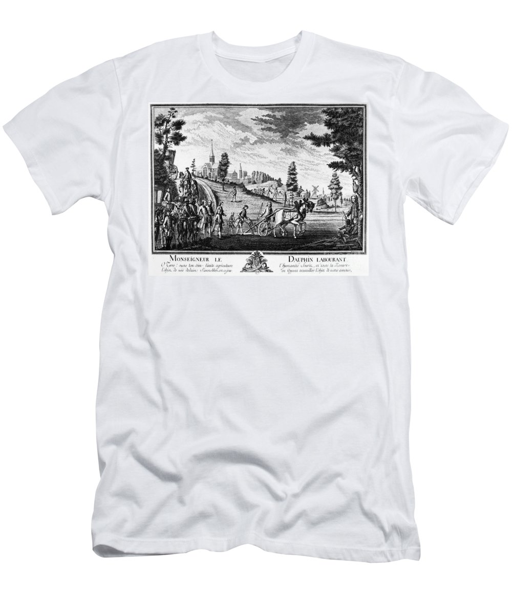 1769 Men's T-Shirt (Athletic Fit) featuring the photograph Louis, Dauphin Of France by Granger