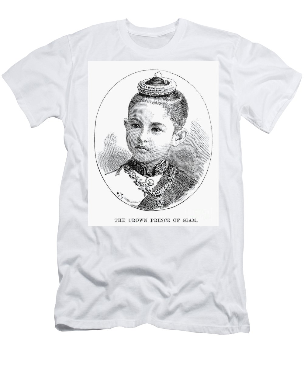 1887 Men's T-Shirt (Athletic Fit) featuring the photograph Maha Vajirunhis by Granger