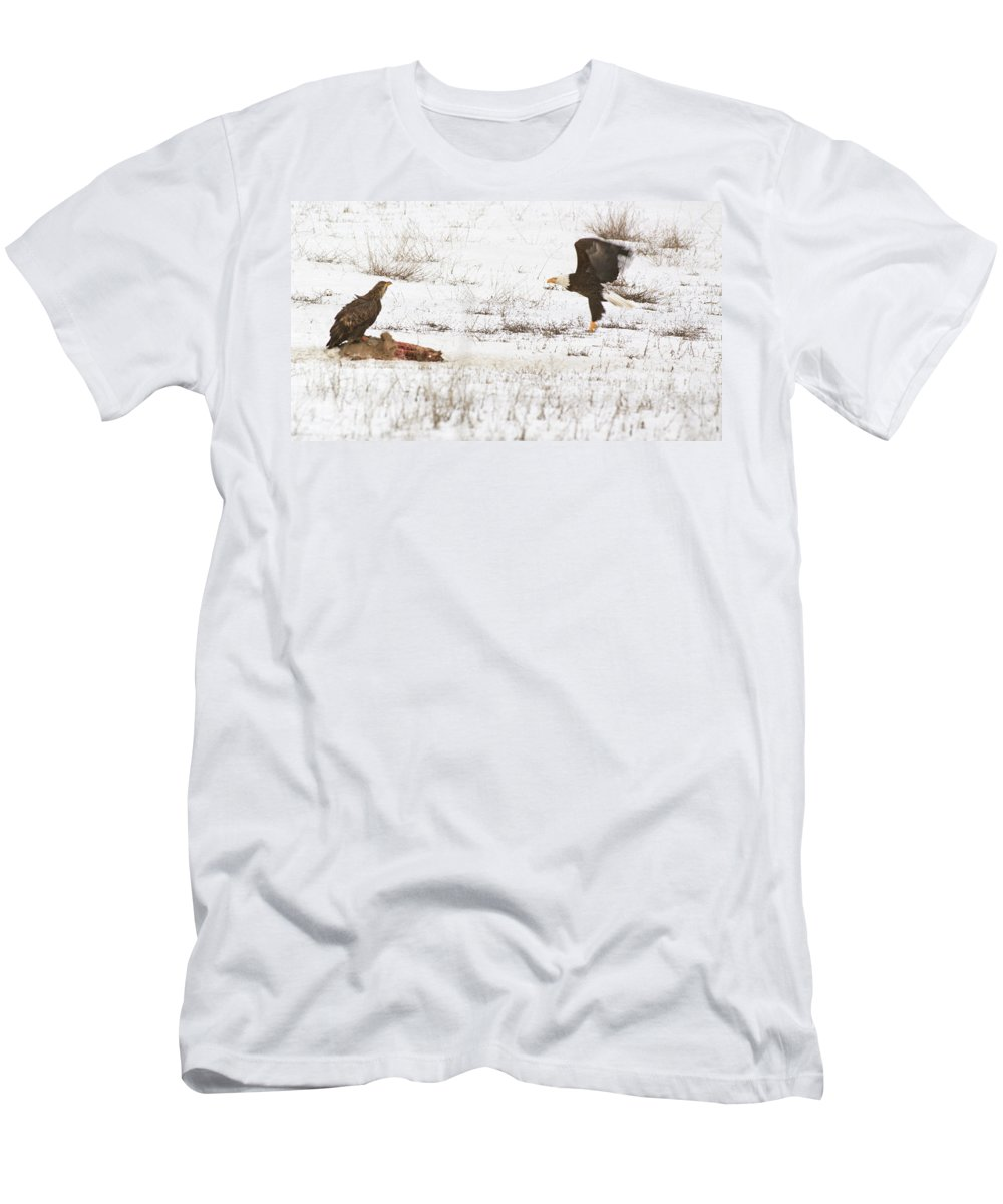 Animal Men's T-Shirt (Athletic Fit) featuring the photograph Mine by One Rude Dawg Orcutt