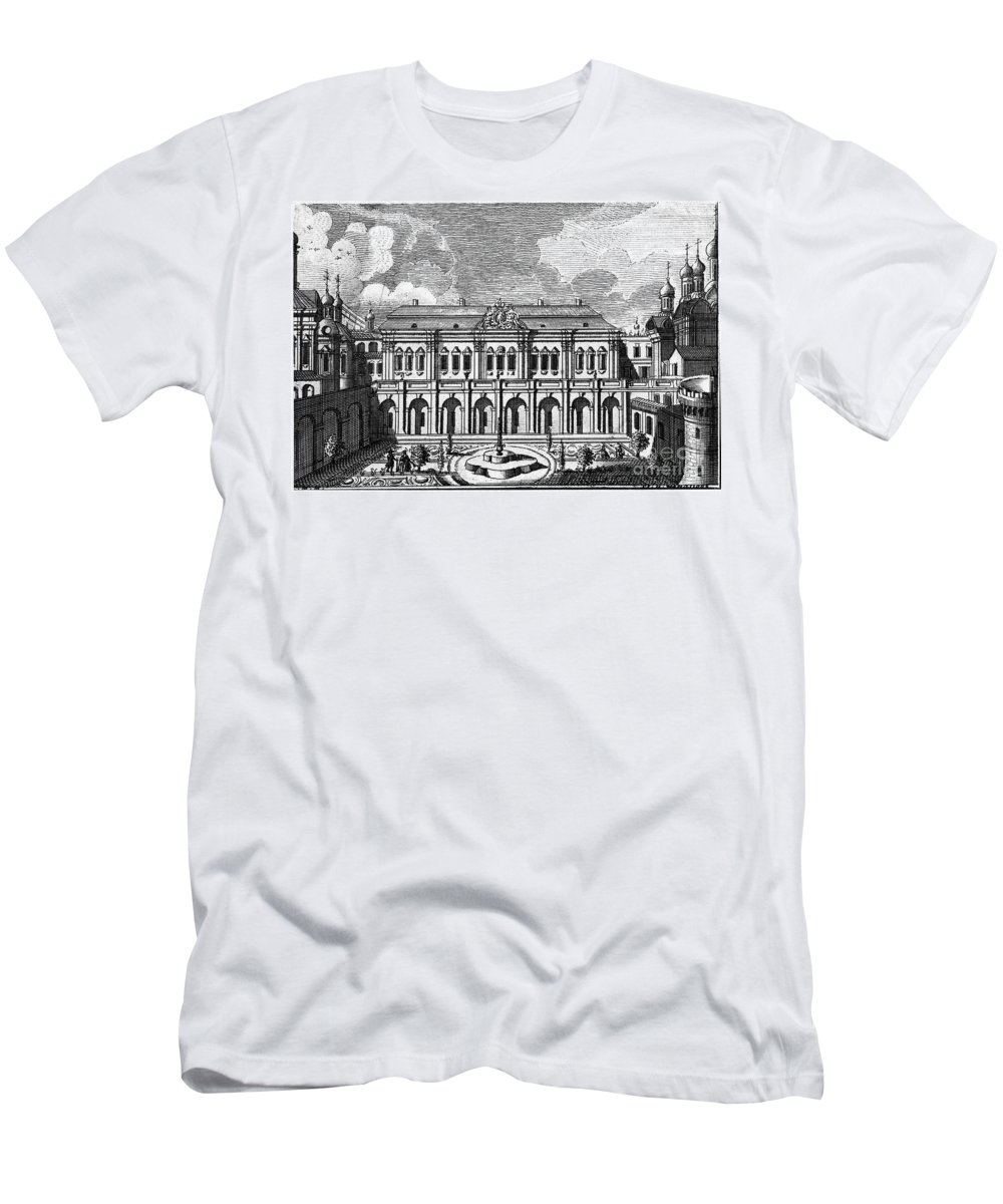 18th Century Men's T-Shirt (Athletic Fit) featuring the photograph Moscow: Kremlin Palace by Granger
