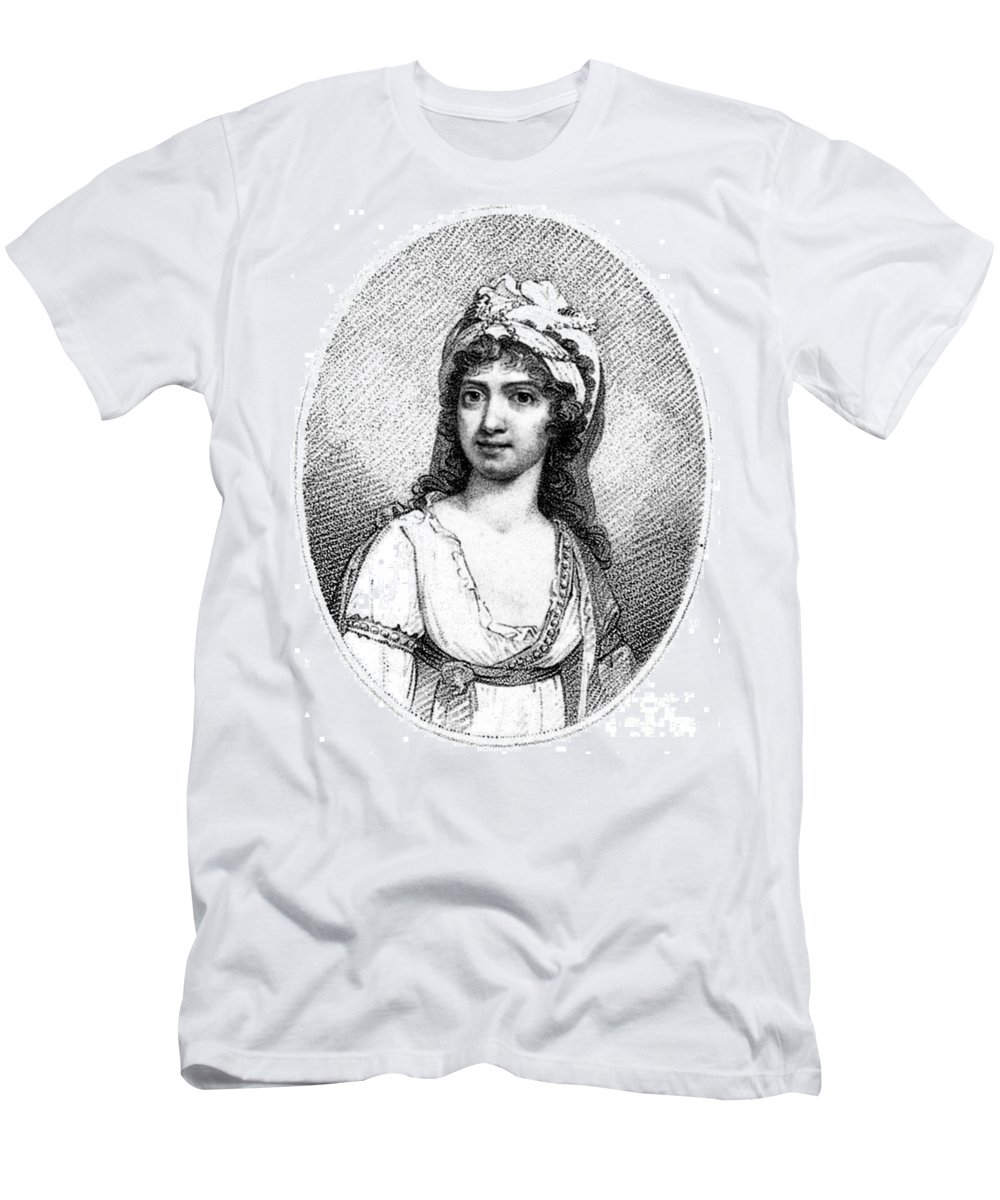 18th Century Men's T-Shirt (Athletic Fit) featuring the photograph Nancy Storace (1765-1817) by Granger