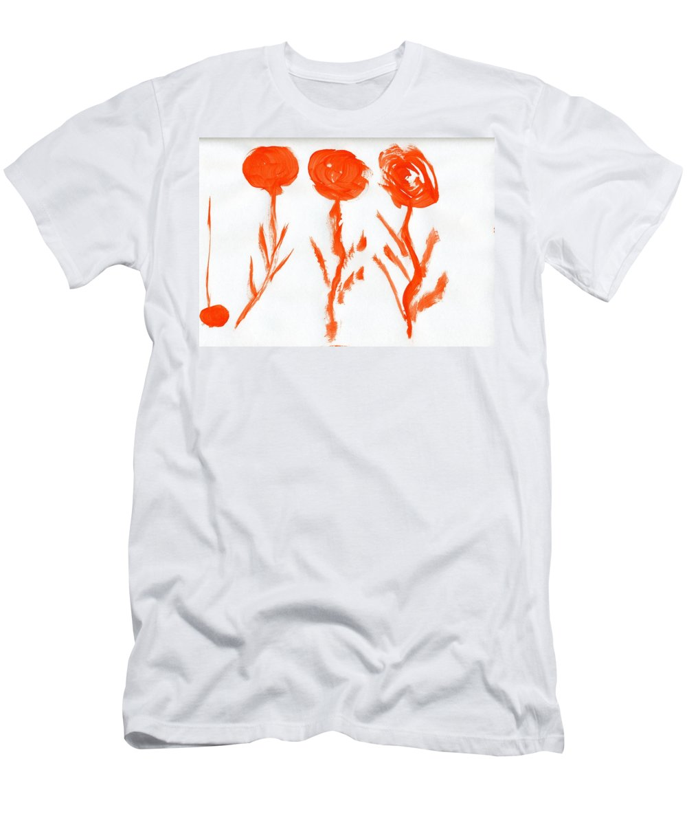 New Arrival Men's T-Shirt (Athletic Fit) featuring the painting New Arrival by Taylor Webb