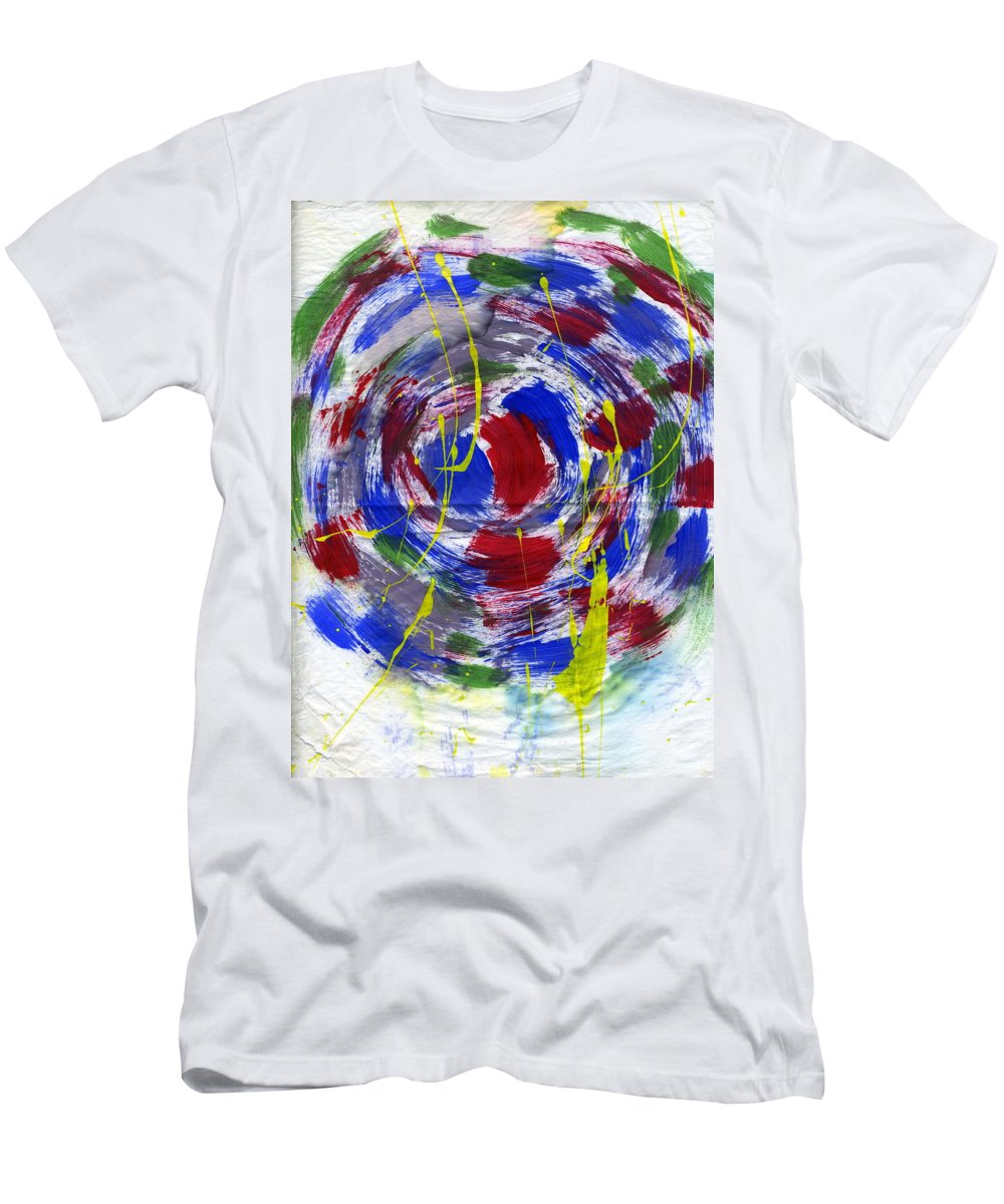 New Universe Men's T-Shirt (Athletic Fit) featuring the painting New Universe by Taylor Webb