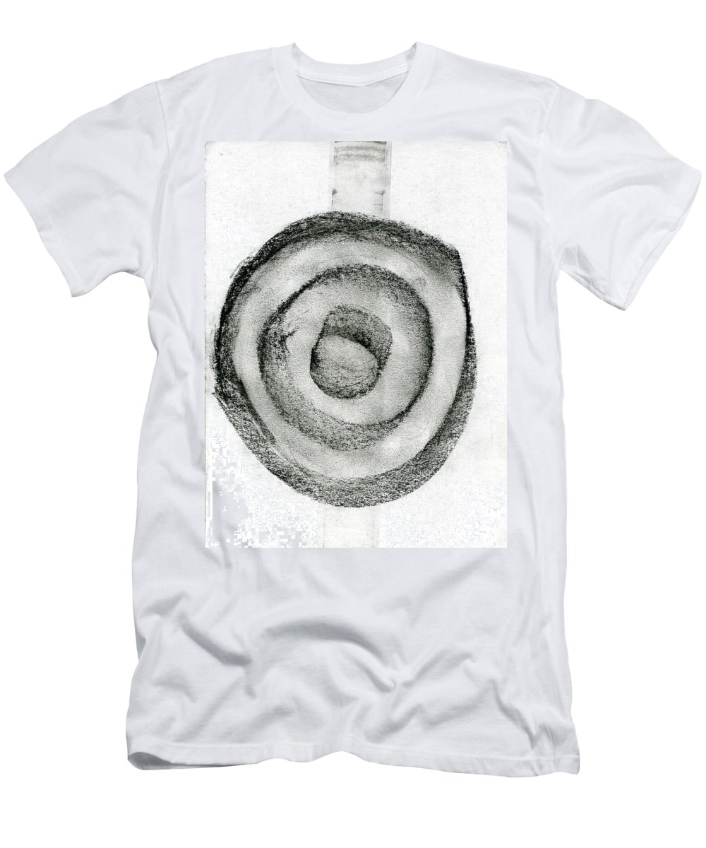 Night Lore Men's T-Shirt (Athletic Fit) featuring the painting Night Lore by Taylor Webb