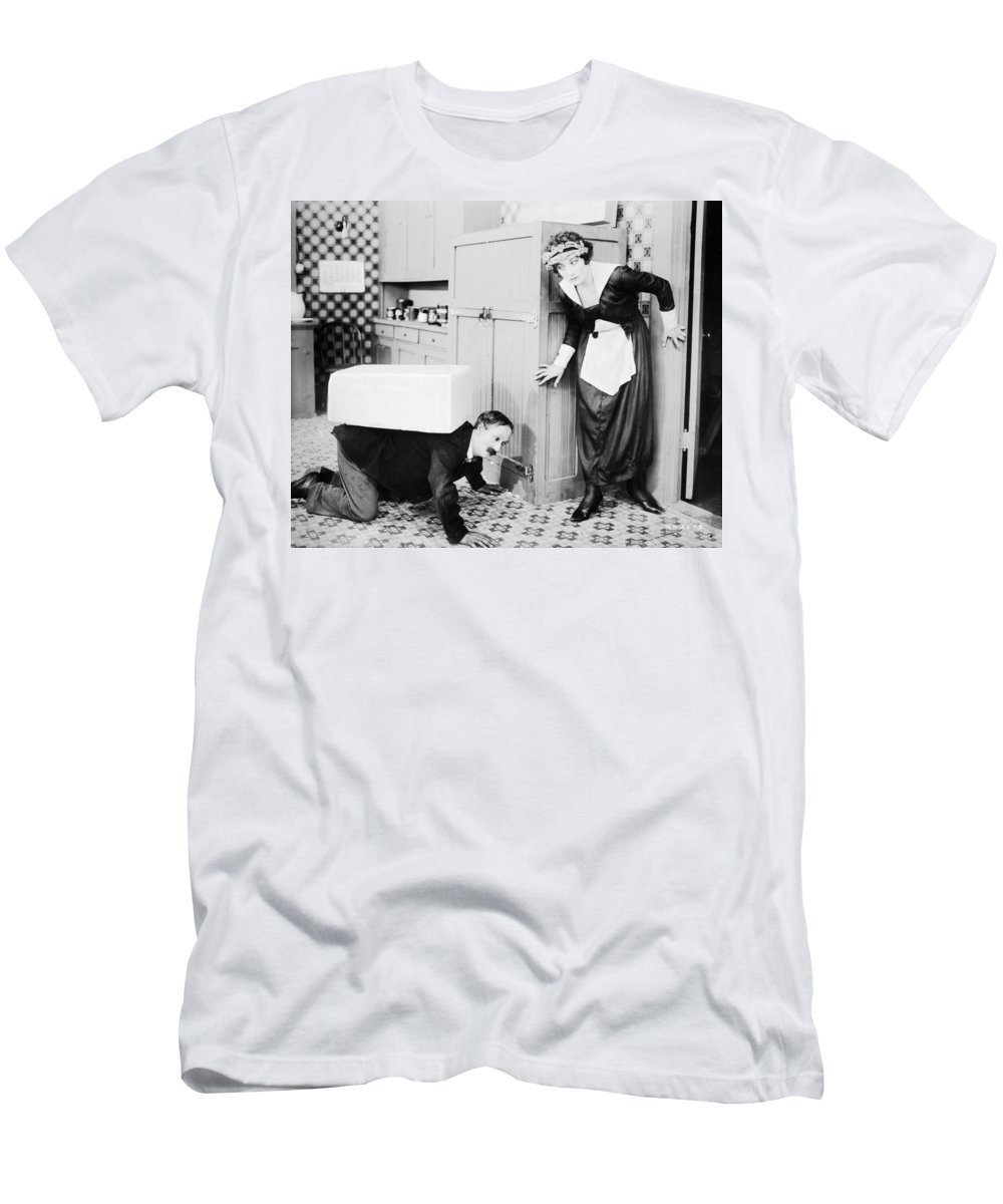 -nec11- Men's T-Shirt (Athletic Fit) featuring the photograph No Mother To Guide Him by Granger