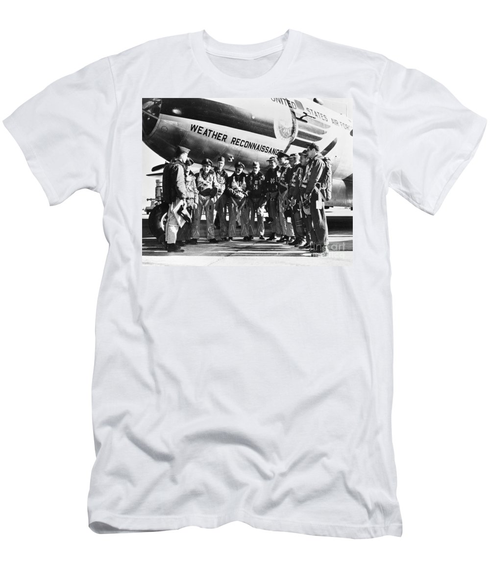 1952 Men's T-Shirt (Athletic Fit) featuring the photograph Nuclear Tests, 1952 by Granger
