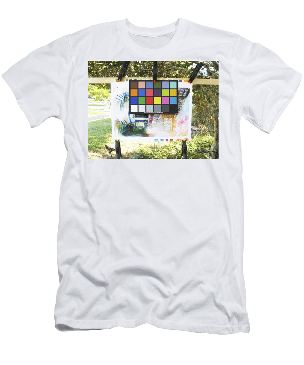 Men's T-Shirt (Athletic Fit) featuring the photograph Number 9 by Rich Franco