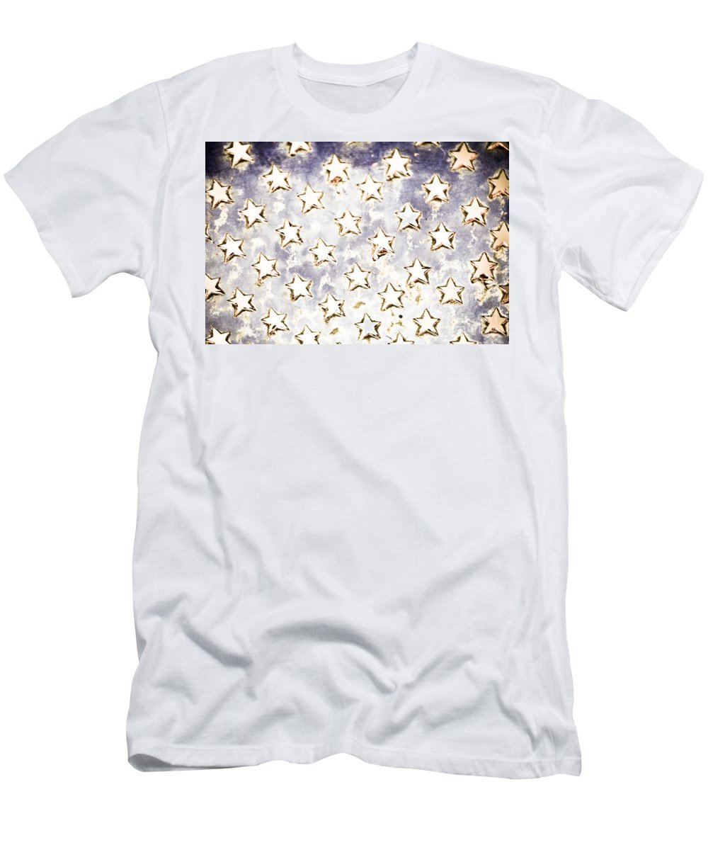 Stars Men's T-Shirt (Athletic Fit) featuring the photograph Old Stars by Kim Henderson