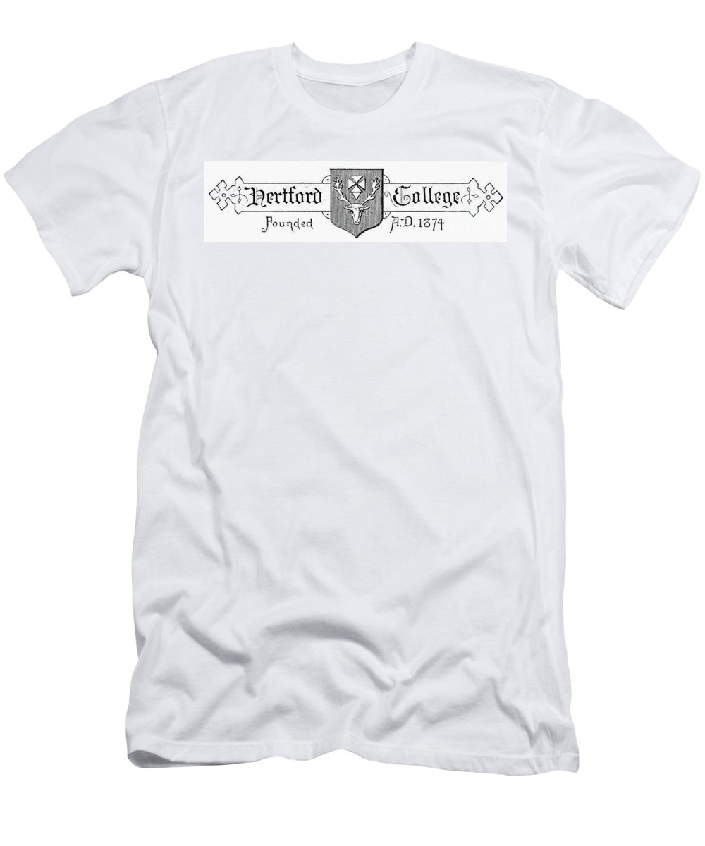 Antler Men's T-Shirt (Athletic Fit) featuring the photograph Oxford: Coat Of Arms by Granger