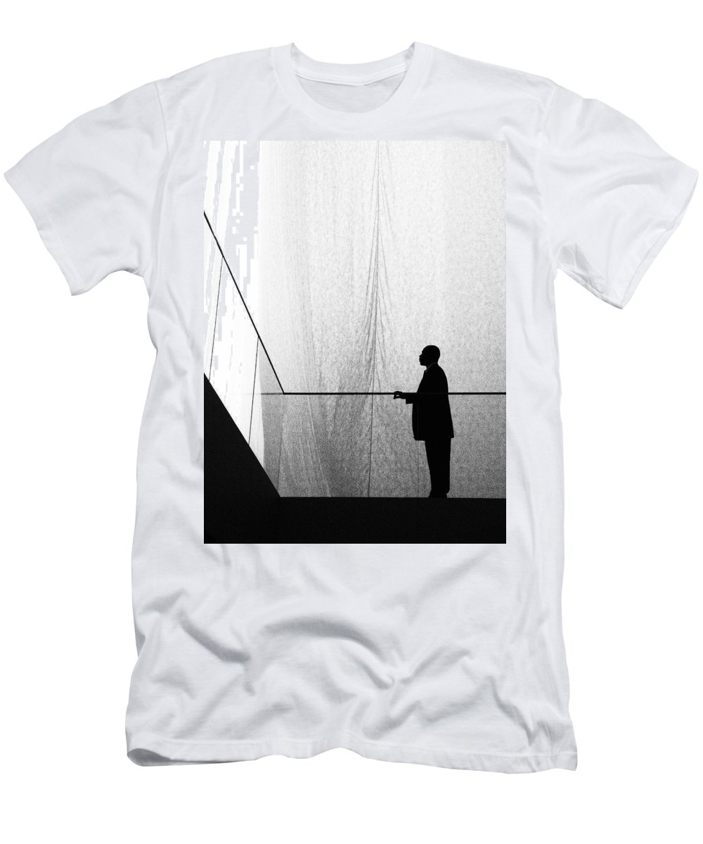 Patient Tension T-Shirt featuring the photograph Patient Tension by Skip Hunt
