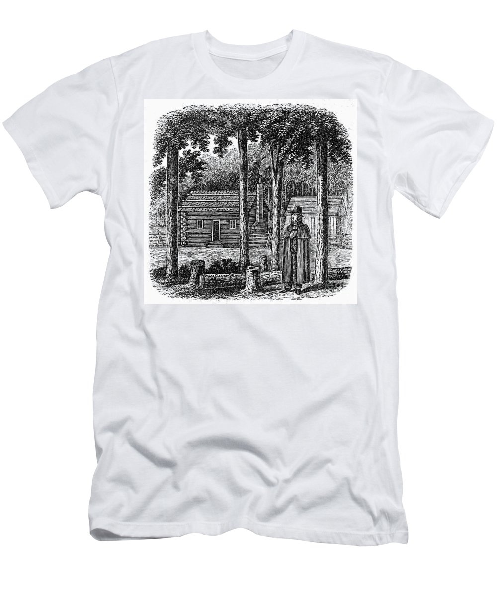 19th Century Men's T-Shirt (Athletic Fit) featuring the photograph Prince Demetrius Augustine Gallitzin (1770-1840) by Granger