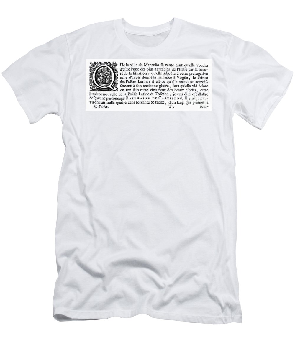 1500 Men's T-Shirt (Athletic Fit) featuring the photograph Printing Initial, C1500 by Granger