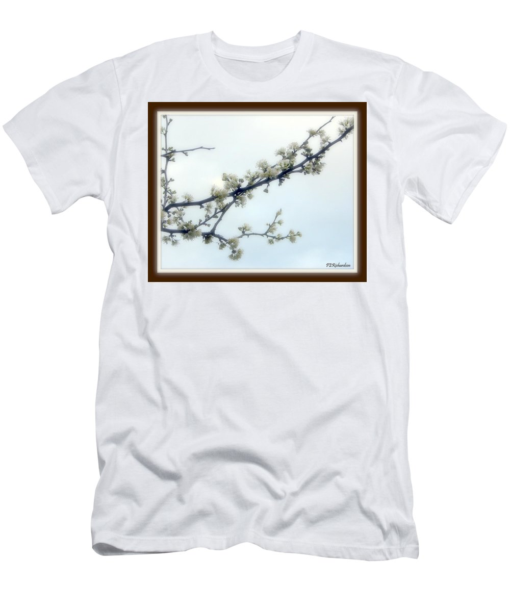 Blossums Men's T-Shirt (Athletic Fit) featuring the photograph Profusion by Priscilla Richardson