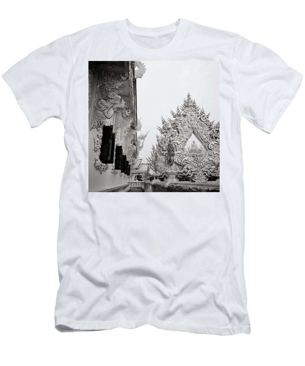 B&w Men's T-Shirt (Athletic Fit) featuring the photograph Romance by Shaun Higson