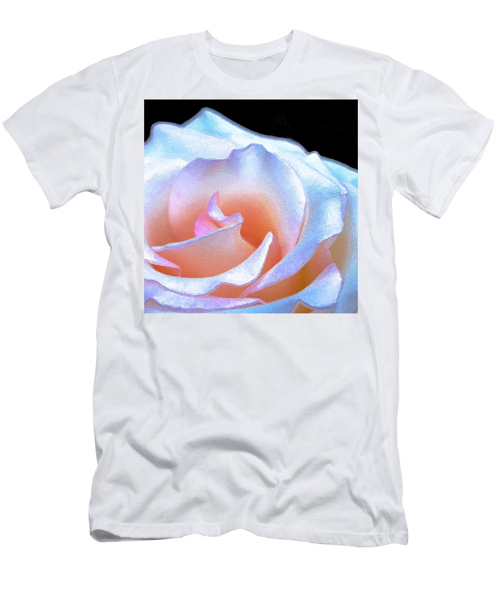 Floral Men's T-Shirt (Athletic Fit) featuring the photograph Rose 158 by Pamela Cooper