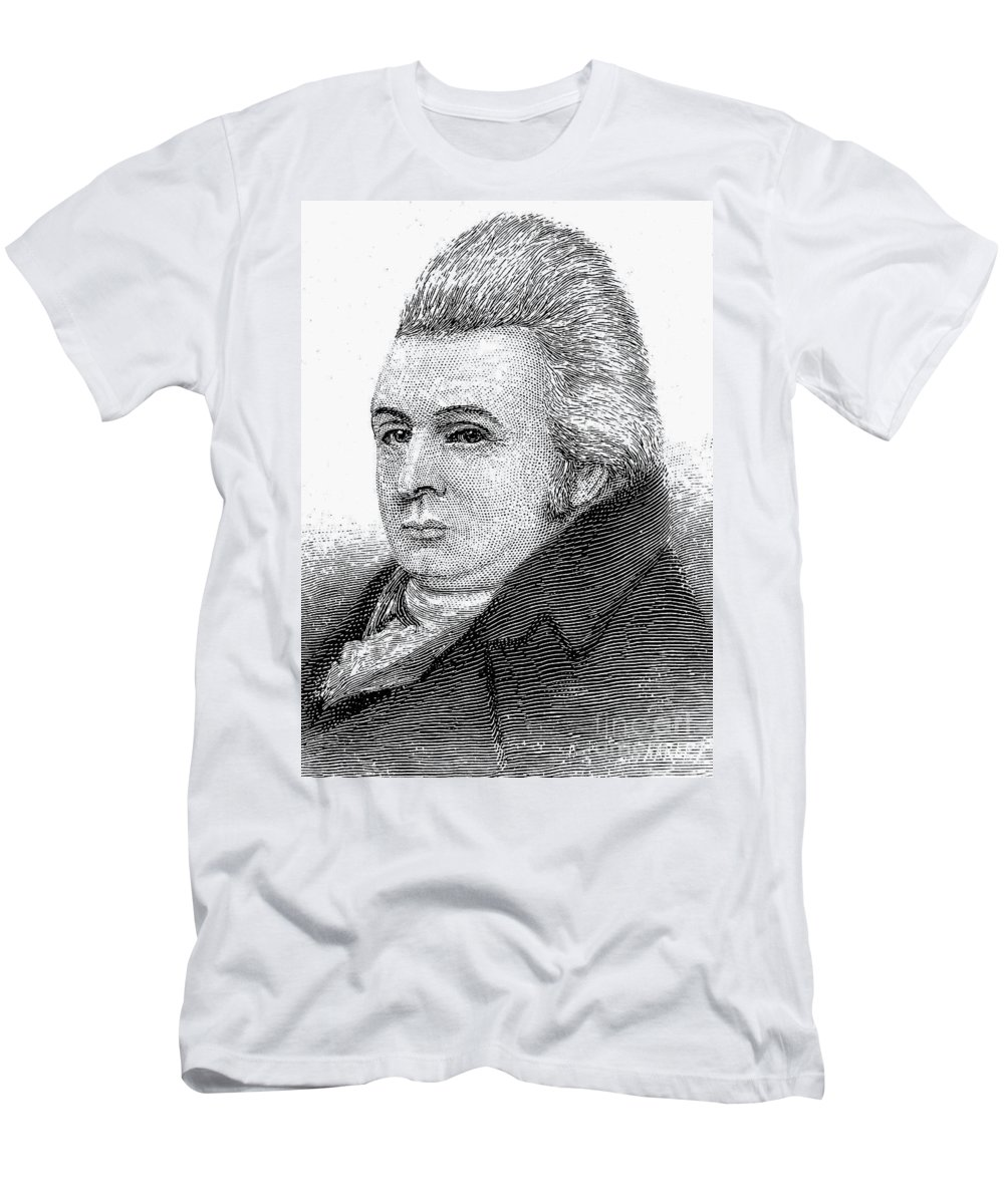 18th Century Men's T-Shirt (Athletic Fit) featuring the photograph Royall Tyler (1757-1826) by Granger
