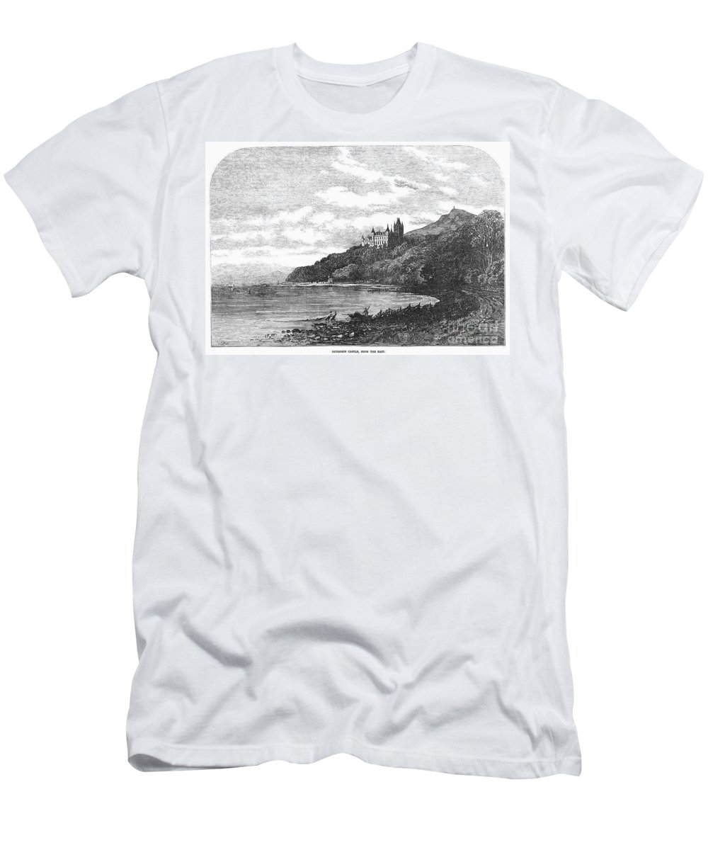 1855 Men's T-Shirt (Athletic Fit) featuring the photograph Scotland: Dunrobin Castle by Granger