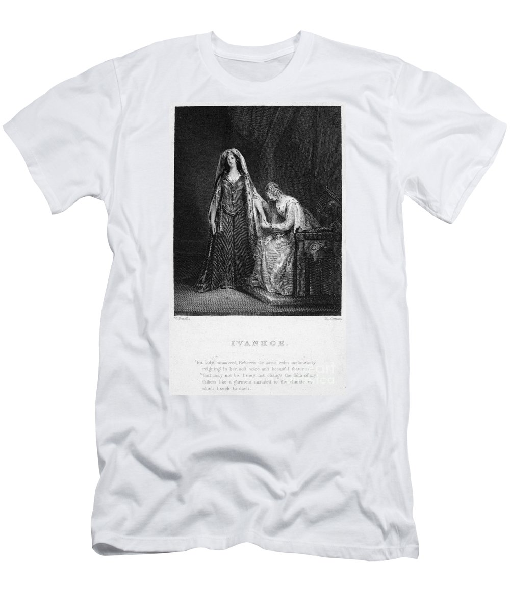 1832 Men's T-Shirt (Athletic Fit) featuring the photograph Scott: Ivanhoe, 1832 by Granger