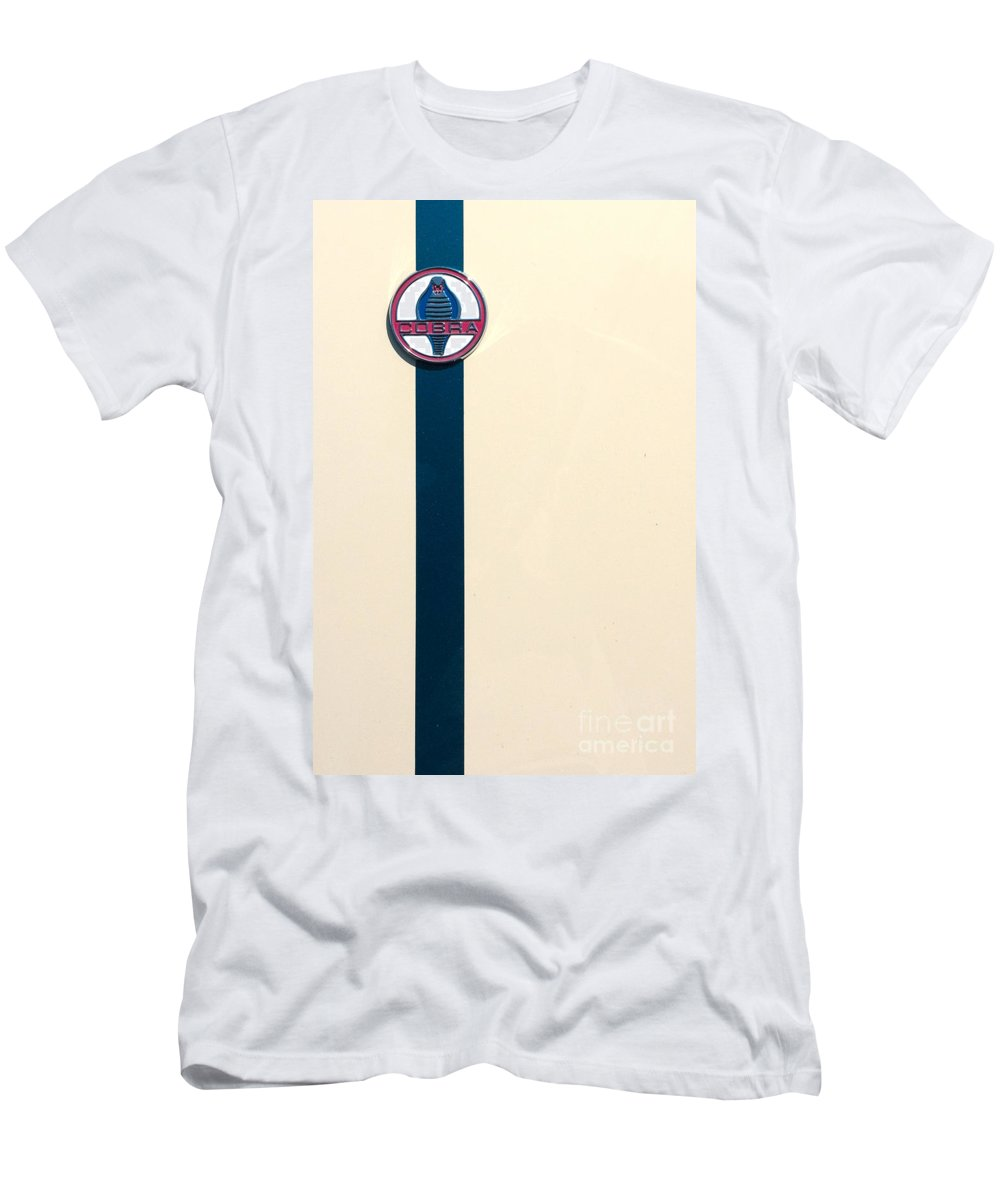 Transportation Men's T-Shirt (Athletic Fit) featuring the photograph Striped Snake by Alan Look