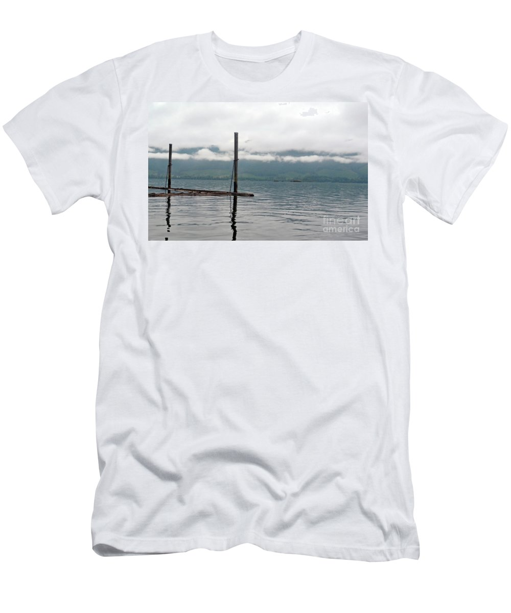 Ocean Men's T-Shirt (Athletic Fit) featuring the photograph Sunrise5 by Traci Cottingham