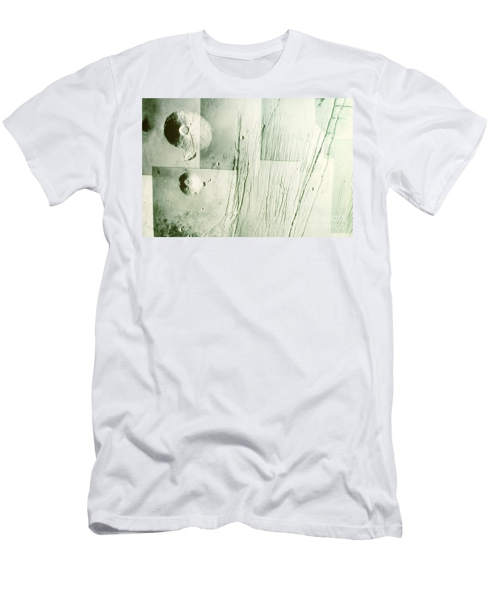 Tharsis Bulge Men's T-Shirt (Athletic Fit) featuring the photograph Tharsis Bulge by A.s.p.