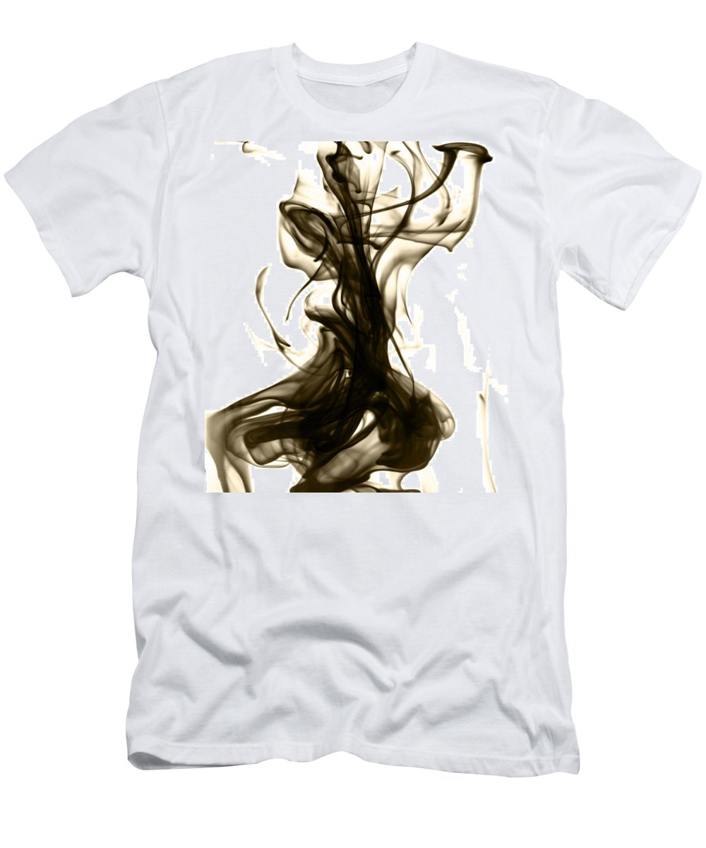 Abstract Men's T-Shirt (Athletic Fit) featuring the photograph The Feminine Side by Sumit Mehndiratta