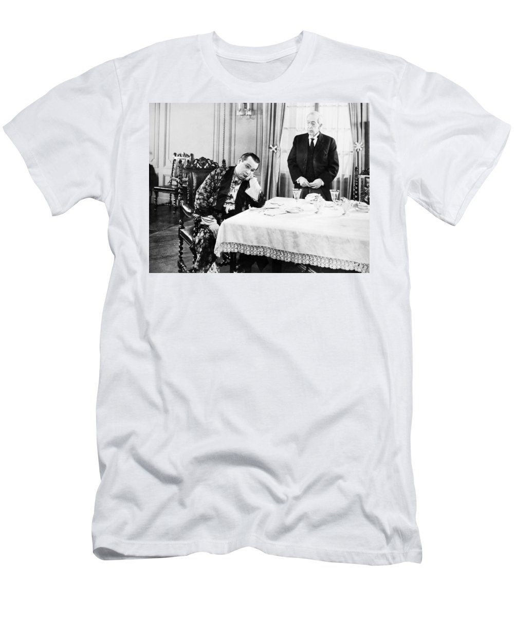 -eating & Drinking- Men's T-Shirt (Athletic Fit) featuring the photograph The Honeymoon Express by Granger
