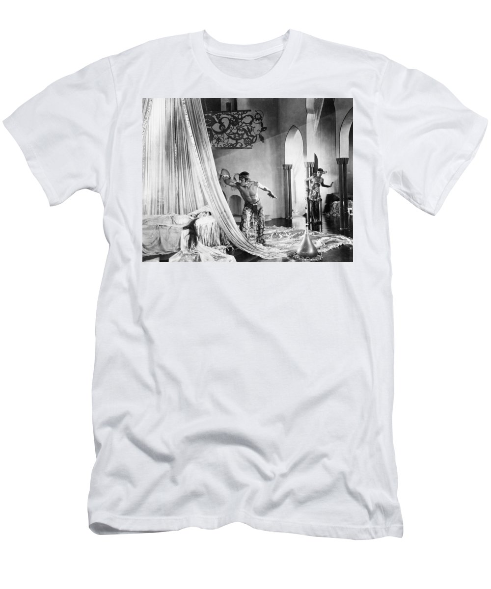 1920s Men's T-Shirt (Athletic Fit) featuring the photograph Thief Of Bagdad, 1924 by Granger