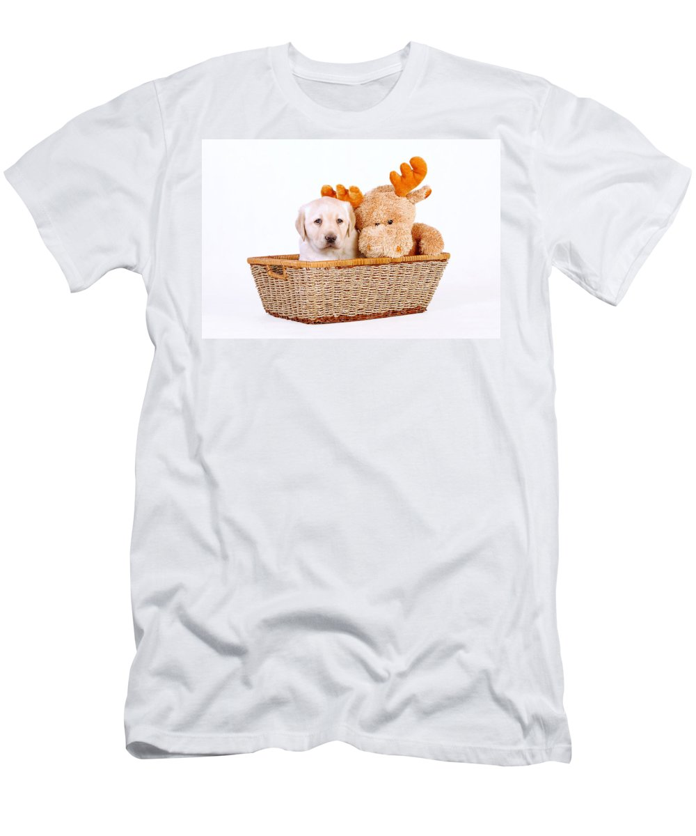 Animal Men's T-Shirt (Athletic Fit) featuring the photograph Two Toys by Waldek Dabrowski