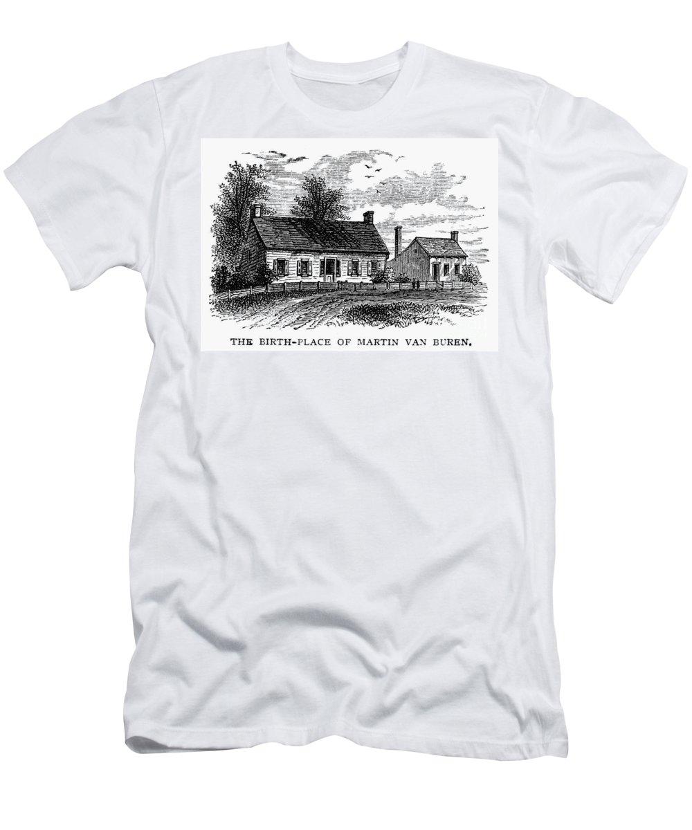 1782 Men's T-Shirt (Athletic Fit) featuring the photograph Van Buren: Birthplace by Granger