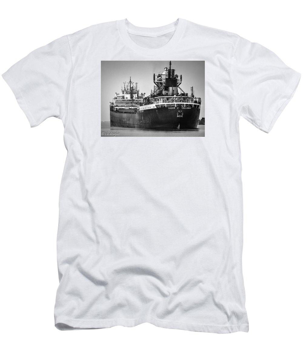 Cason J. Calloway Men's T-Shirt (Athletic Fit) featuring the photograph Cason J. Callaway by Christine Douglas