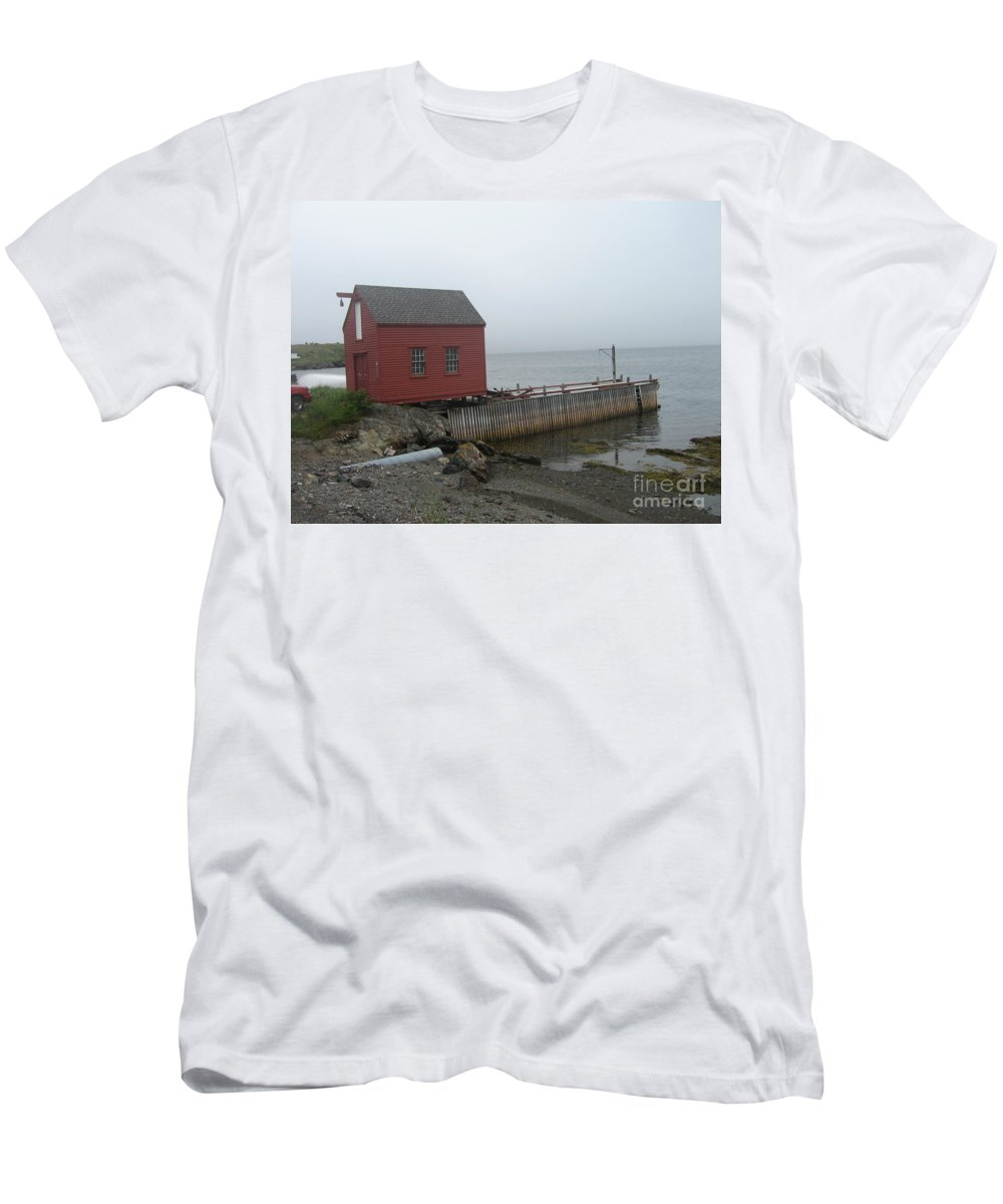 Photograph Bonavista Island Atlantic Ocean Newfoundland Men's T-Shirt (Athletic Fit) featuring the photograph Bonavista by Seon-Jeong Kim