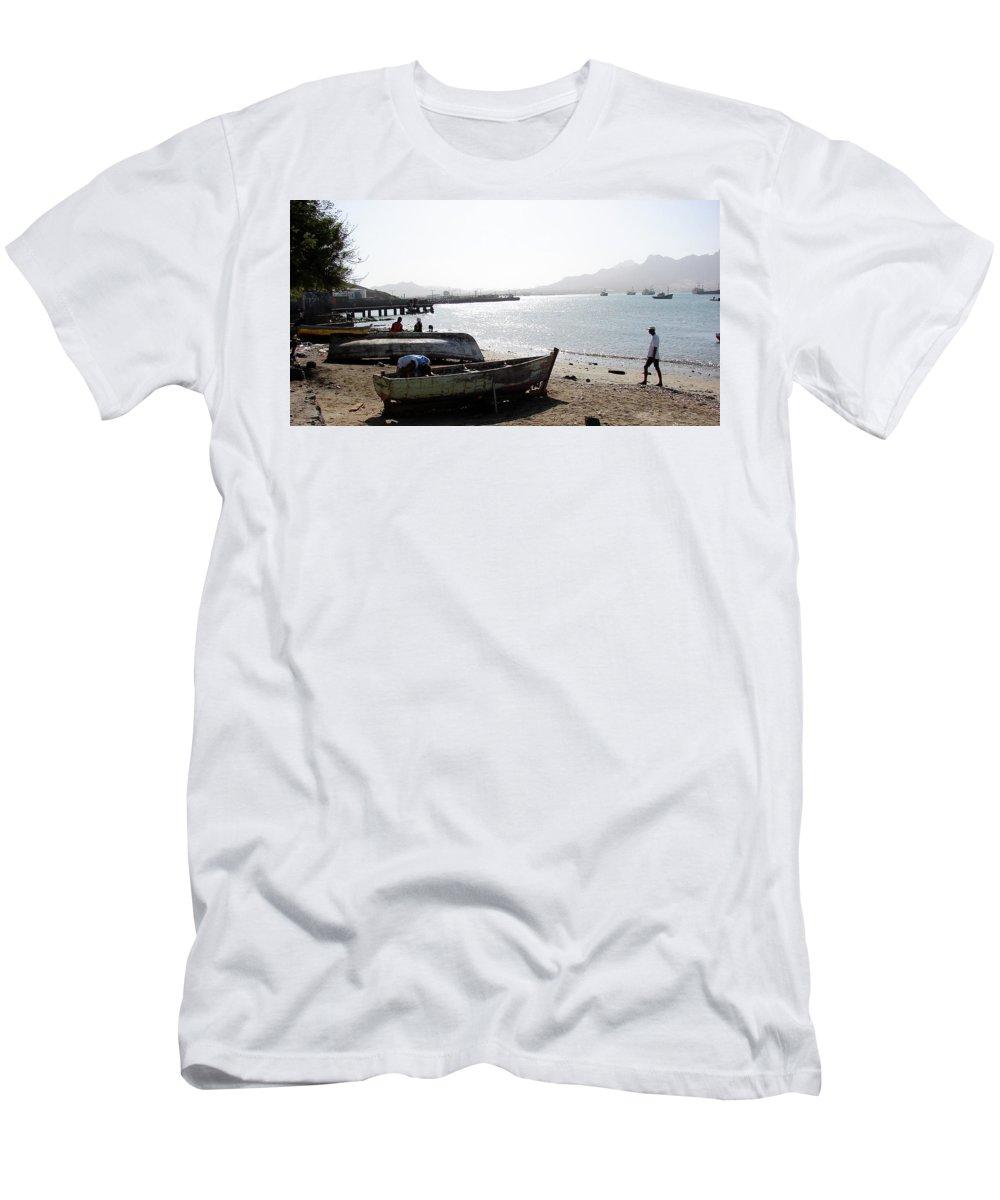 Cape Verde Men's T-Shirt (Athletic Fit) featuring the photograph Cape Verde by Brett Winn