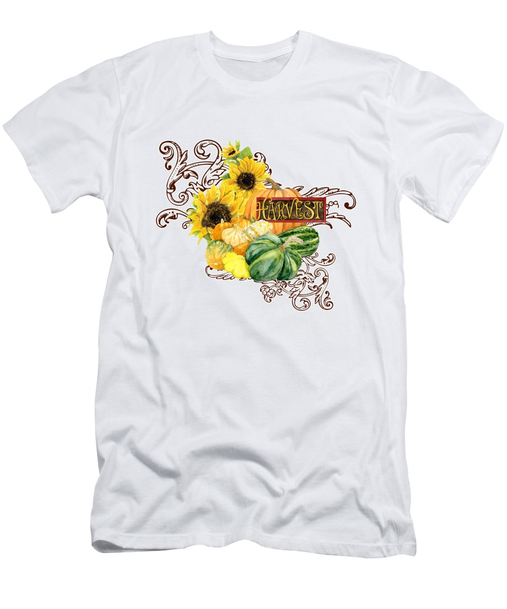 Sunflowers Slim Fit T-Shirts
